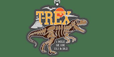 2019 Dinosaur! T-Rex 1M, 5K, 10K, 13.1, 26.2-Jersey City tickets