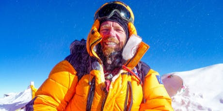 ICE - WATER - FIRE  The inspirational story of Adventurer, Jason Snell. tickets