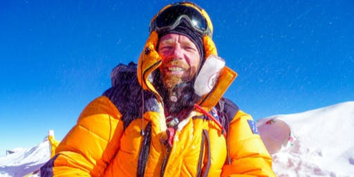 ICE - WATER - FIRE  The inspirational story of Adventurer, Jason Snell.