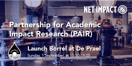 Launch Borrel - Partnership for Academic Impact Research (PAIR) tickets