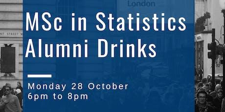 MSc in Statistics Alumni Drinks tickets