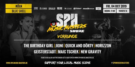 SPH Music Masters Tickets