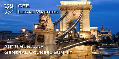 2019 Hungary General Counsel Summit tickets