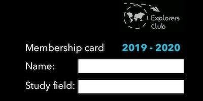 KdG Explorers Club Membership 2019-20