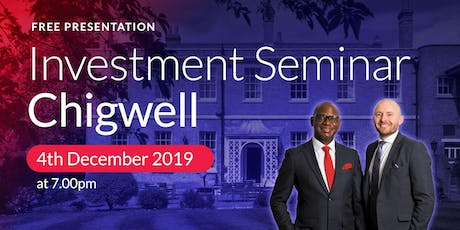 Chigwell Investment Seminar on Buy2LetCars tickets