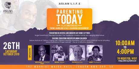 Parenting Today tickets