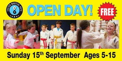 Exeter Martial Arts Open Day Sunday 15th September