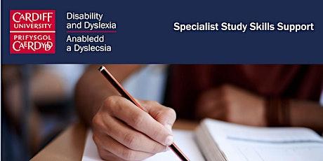 Specialist Study Skills - What is Study Skills tickets