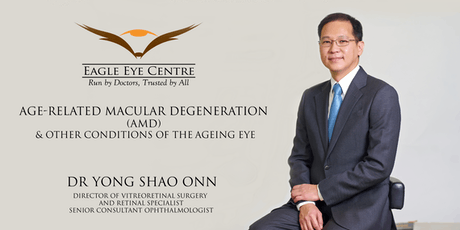 AGE-RELATED MACULAR DEGENERATION (AMD) & OTHER CONDITIONS OF THE AGEING EYE tickets