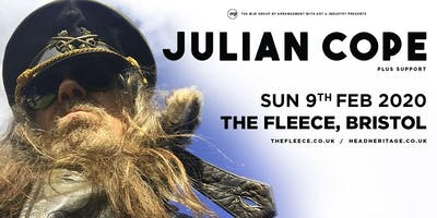 Julian Cope (The Fleece, Bristol)