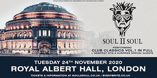 Soul II Soul - Performing Club Classics Volume 1(Royal Albert Hall, London)