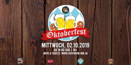 Oktoberfest ´19 Tickets