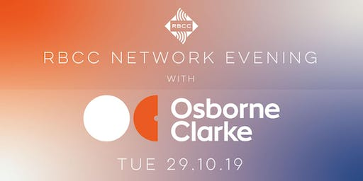 RBCC Networking Event with Osborne Clarke