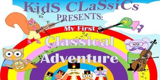 Kids Classics Presents: My First Classical Adventure (St John's Wood) HALF TERM SHOW