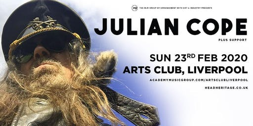 Julian Cope (Arts Club, Liverpool)