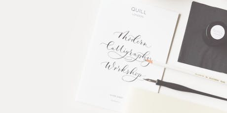 Modern Calligraphy with Quill London  tickets