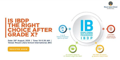 Thinking IBDP after Grade X?