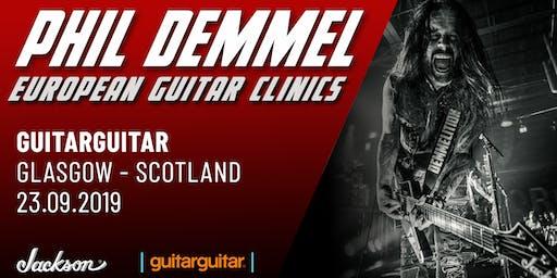 Phil Demmel Jackson Clinic at guitarguitar Glasgow