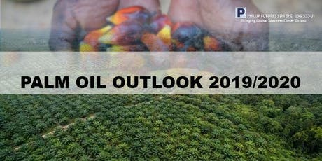 Palm Oil Outlook 2019/2020 tickets