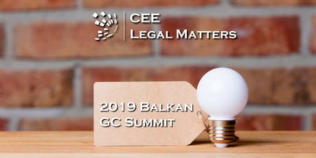 2019 Balkan General Counsel Summit tickets