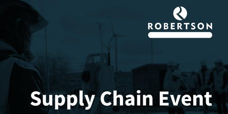 Robertson Supply Chain Event tickets