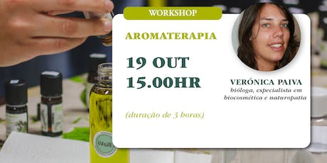 Workshop de Aromaterapia bilhetes