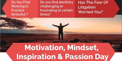 Motivation, Mindset, Inspiration and Passion day