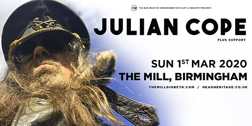 Julian Cope (The Mill, Birmingham)
