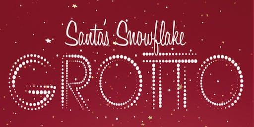 Santa's Snowflake Grotto Wednesday 18th December