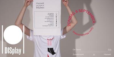 Druk een Hasselts monument met transferpers  |  DISplay