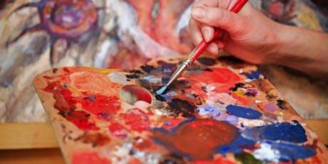 Social Acrylic Painting - Term 4 2019 tickets