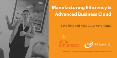 Manufacturing Efficiency and Advanced Business Cloud