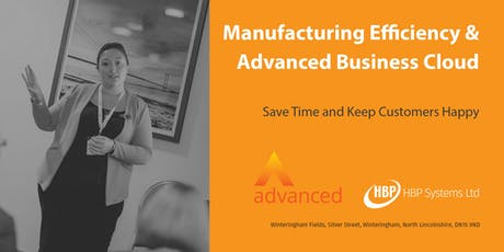 Manufacturing Efficiency and Advanced Business Cloud tickets
