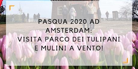 Pasqua 2020 ad Amsterdam: visita parco dei tulipani e mulini a vento in LINGUA ITALIANA tickets