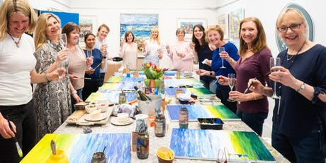 Paint & Sip Evening with  Grainne Roche @ Papercourt Studio, Woking, Surrey tickets