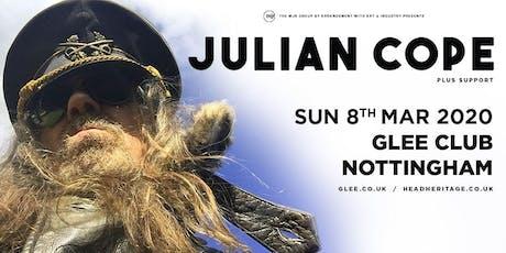 Julian Cope (Glee Club, Nottingham) tickets