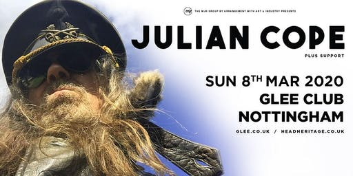 Julian Cope (Glee Club, Nottingham)