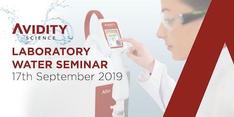 Avidity Science Laboratory Water Seminar 2019 tickets