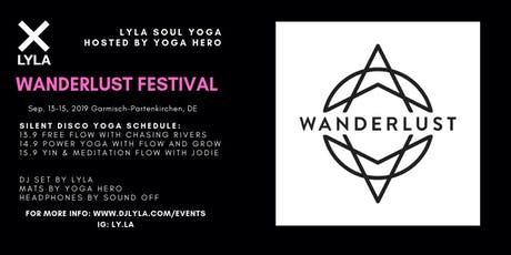 LYLA Soul Yoga x Yoga Hero at Wanderlust Festival GaPa Public Tickets