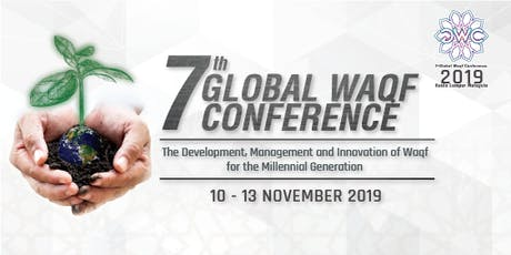 7th Global Waqf Conference 2019 tickets