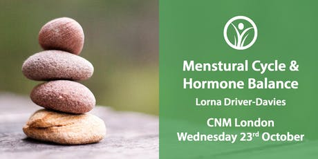 CNM London - Menstrual Cycle & Hormone Balance billets