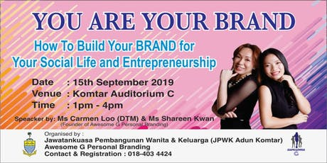 You Are Your Brand Workshop tickets