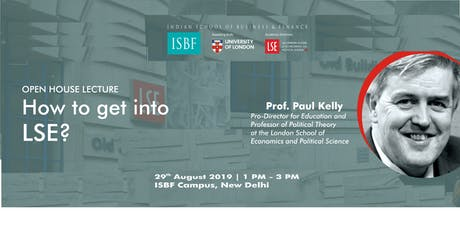 Open House Lecture- How to get into LSE? tickets