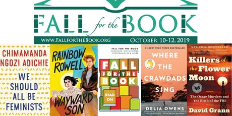 Fall for the Book Festival 2019 tickets