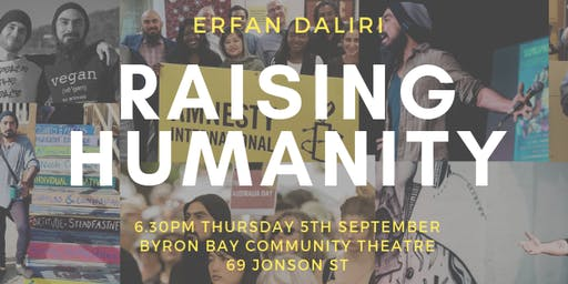 Raising Humanity by Erfan Daliri - Byron Bay Book Launch