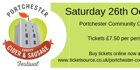 Portchester Charity Cider & Sausage Festival tickets