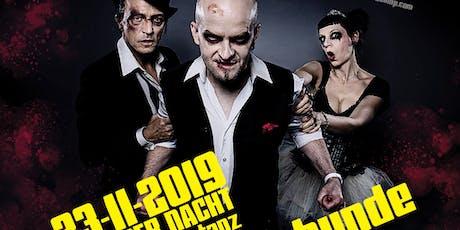 Tanz der Nacht präsentiert LIVE: Metallspürhunde, Dunkelsucht Tickets