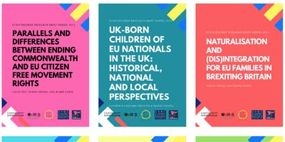 Brexit and EU families in Scotland and the UK: launch of research findings
