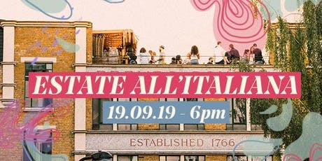 Estate all'italiana - Roof Party by FILL tickets