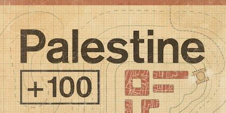 Palestine +100 book launch tickets